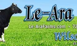 Le-Ara Holsteins Banner