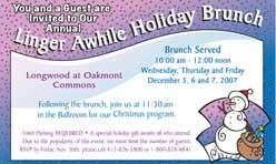 Holiday Invitation Post Card