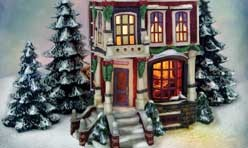 Dickens Christmas Cottage