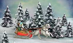 Dickens Collectable Sleigh